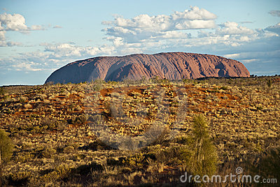 Uluru, Ayers Rock, Northern Territory, Australia Editorial Image