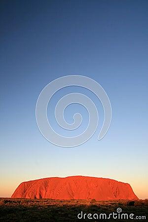 Uluru, Ayres Rock, Australia Editorial Stock Photo