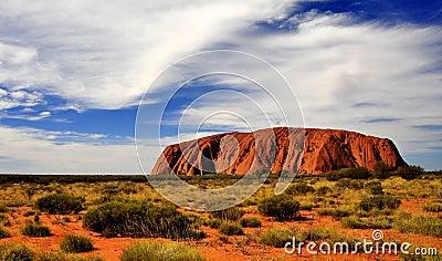Uluru Editorial Stock Image