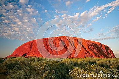 Uluru (roca de Ayers) Fotografía editorial