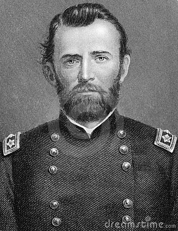 Ulysses S. Grant Editorial Stock Photo