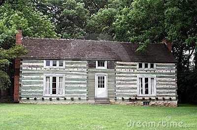 Ulysses S Grant s cabin Editorial Stock Photo