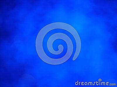 Um fundo azul
