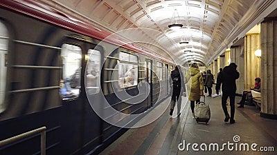 Um trem saindo filme