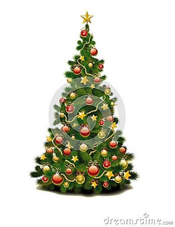 Uma árvore de Natal