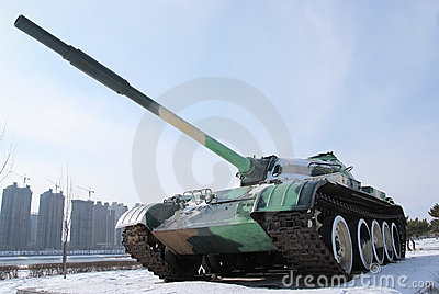 Uma arma da guerra: tanques