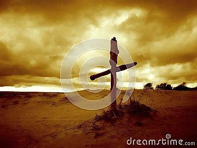Uma cruz