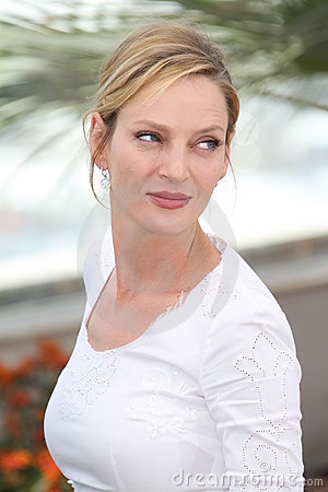Uma Thurman Editorial Stock Photo