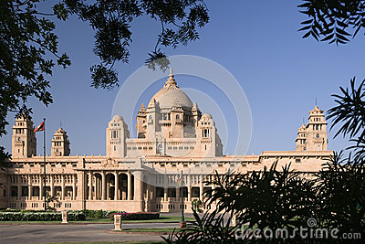 Umaid Bhawan Palace - Jodhpur - India Editorial Stock Image