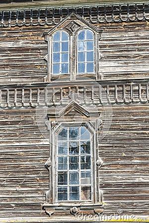 正教教会细节在Pobirka -乌克兰,欧洲。