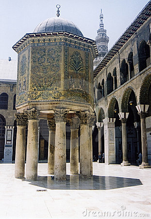 Umayyad Grand Mosque Damascus Syria