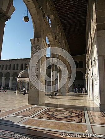 Umayyad mosque in Damascus