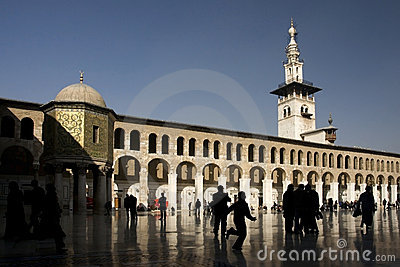Umayyad mosque in Damascus, Syria