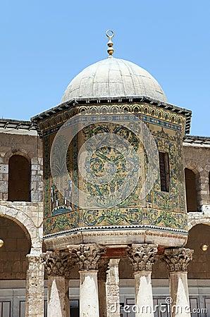 Umayyad Mosque in Damascus, Syria.