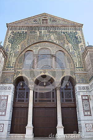 Umayyad Mosque in damascus syria