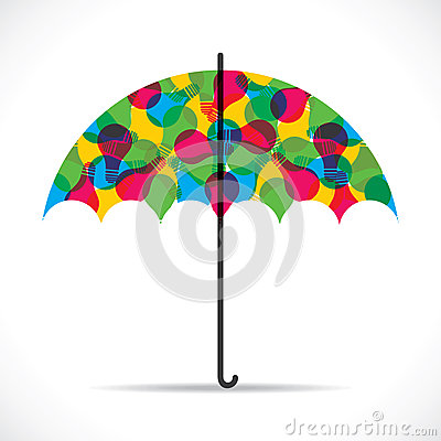 Abstract umbrella