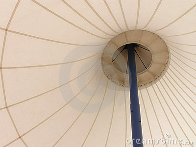 Umbrella-like abstract pattern