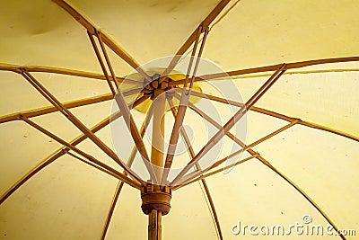 Umbrella made of paper / fabric. Arts