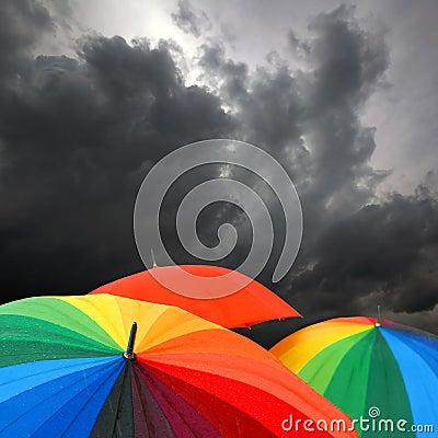 Free Umbrella New Royalty Free Stock Images - 10996149