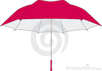 Umbrella in vectors