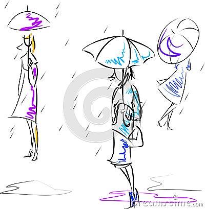 Free Umbrellas Royalty Free Stock Image - 10677926
