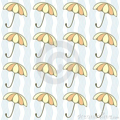 Umbrellas background