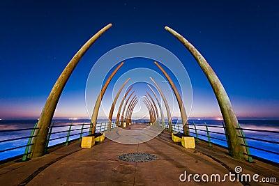 Umhlanga pier sunrise, South Africa
