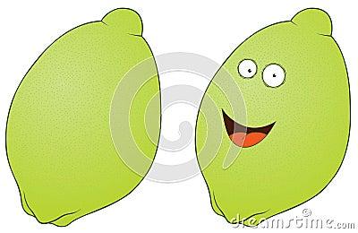 Uśmiechnięta cytryna