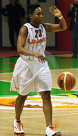 UMMC VS Galatasaray. Euroleague 2009-2010. Editorial Photography