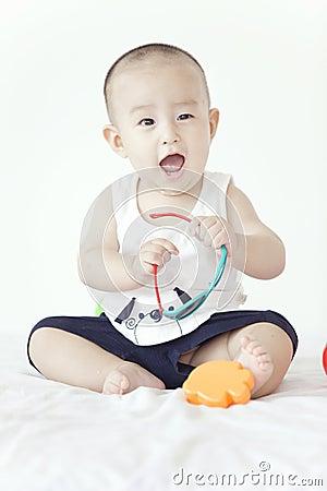 Un bambino adorabile