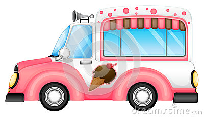 Un coche del helado
