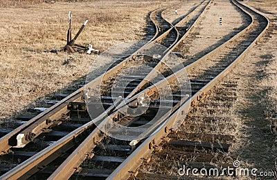 Voies de chemin de fer