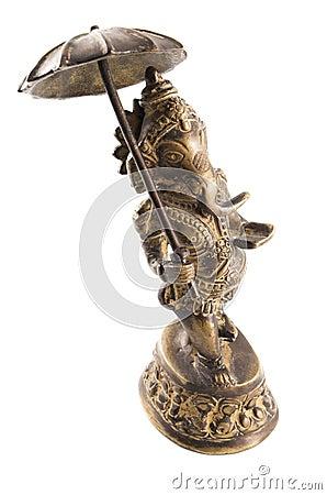 Un dieu indou de Ganesha de la bonne chance