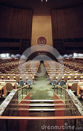 UN General Assembly 1991 Editorial Photography