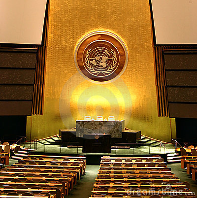 UN General Assembly Editorial Photography
