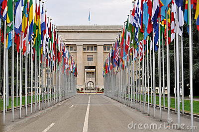 The UN, Geneva, Switzerland