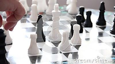 Un gioco di scacchi archivi video