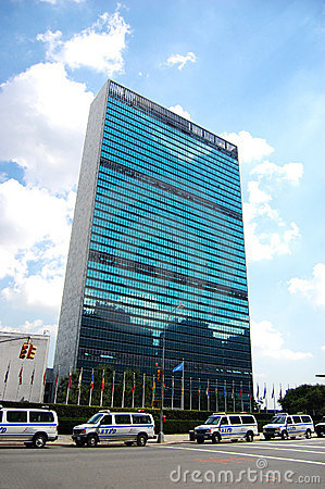 UN Headquarters in New York City Editorial Photo