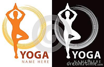 Logotipo de la yoga