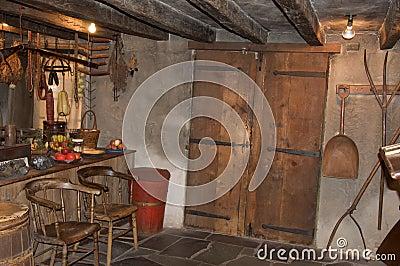 Un interiore di 1826 Fotografia Stock Editoriale