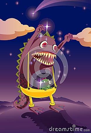 Un mostro spaventoso