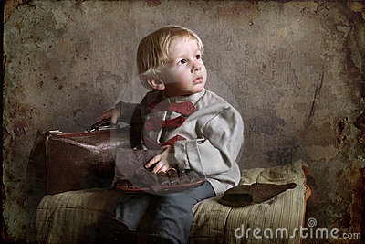 Un petit enfant de temps de guerre