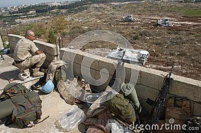 Un Soldier Editorial Image
