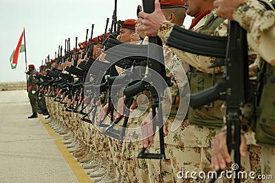 UN Troops - Close Up Editorial Image
