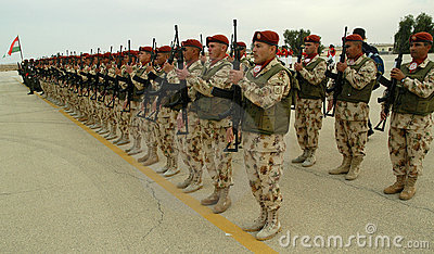 UN Troops In Line Editorial Photo