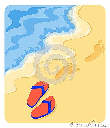 Una camminata sulla spiaggia