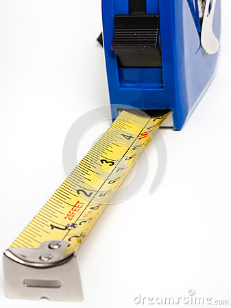 Una cinta métrica para conseguir exactitud