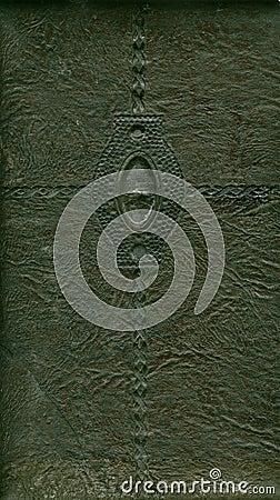 Una cubierta del álbum del cuero de la vendimia