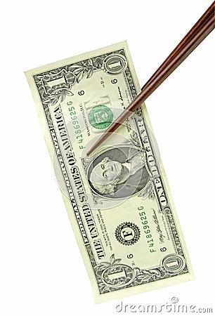 Una cuenta de dólar