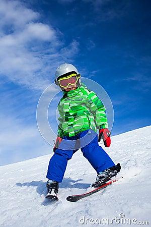 Una foto di uno sciatore minore immagini stock libere da - Foto di uno shamrock ...